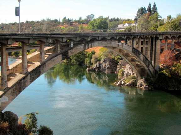 Folsom CA Rainbow Bridge